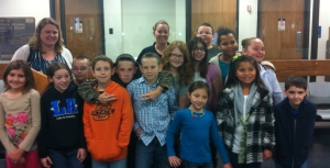 The G&T group from Little Axe.  A great group of kids!